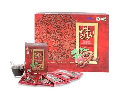 Nước hồng sâm linh chi Hàn Quốc TaeWoong hộp 30 gói x 70ml
