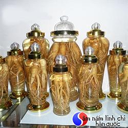Rượu sâm Hàn Quốc bình 1,8 lít