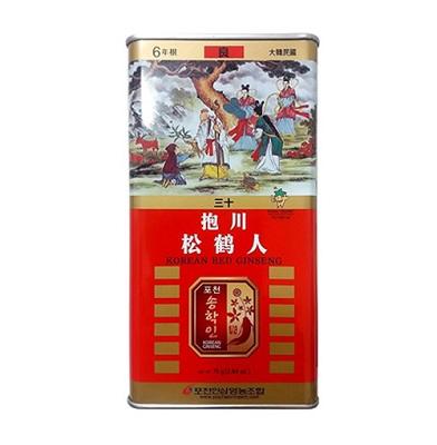 Sâm củ khô hộp thiếc Pocheon hộp 75g