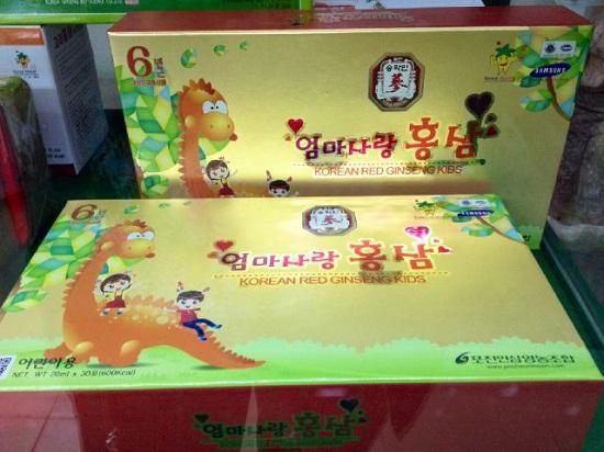 Hồng sâm trẻ em Pocheon 20ml x 30 gói