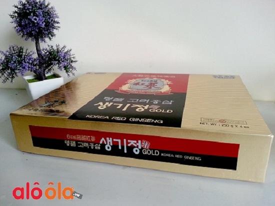 Cao đặc hồng sâm 250g 4 lọ Hàn Quốc-sản phẩm tiện dụng