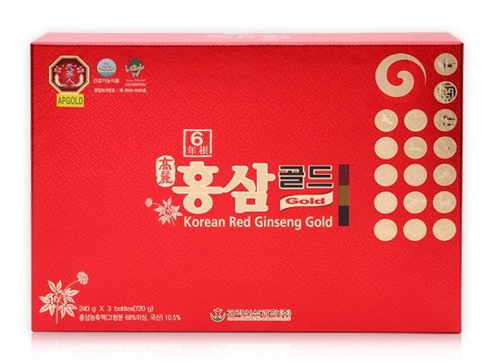 Thông tin sản phẩm cao hồng sâm Korean Red Ginseng Gold