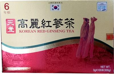 Trà hồng sâm Hàn Quốc Dongwon hộp 100 gói cao cấp bổ dưỡng