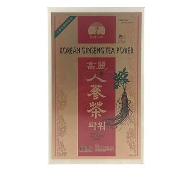 Trà hồng sâm Hàn Quốc hộp gỗ 100 gói chất lượng bổ dưỡng