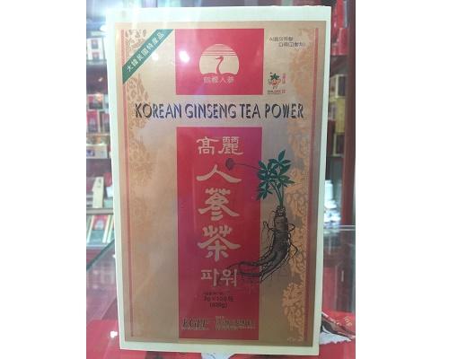 trà hồng sâm hàn quốc hộp gỗ