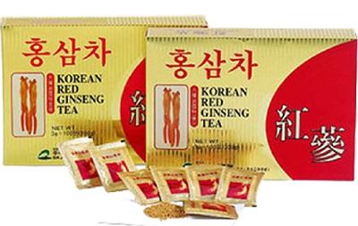 Trà sâm Hàn Quốc KGS hộp 100 gói chăm sóc cơ thể khỏe mạnh