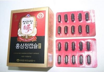 Viên hồng sâm Hàn Quốc KGC hộp 100 viên