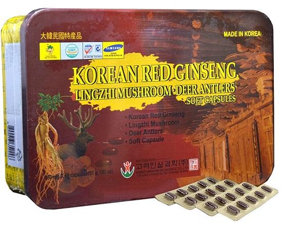 Viên sâm nhung linh chi Hàn Quốc Bio Apgold