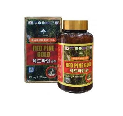 Viên tinh dầu thông đỏ Hàn Quốc Red Pine Gold hộp 100 viên