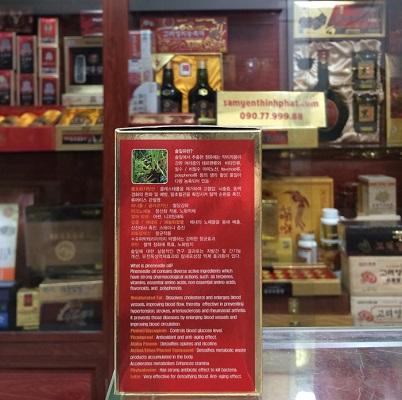 Viên tinh dầu thông đỏ Hàn Quốc Red Pine Gold