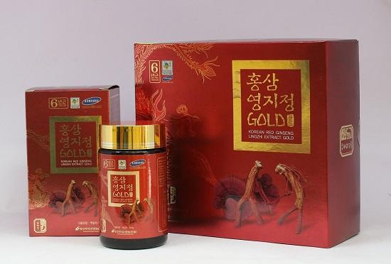 Cao hồng sâm linh chi Pocheon Hàn Quốc 2 lọ x 240g