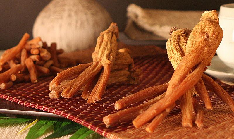 Hồng sâm củ khô KGC
