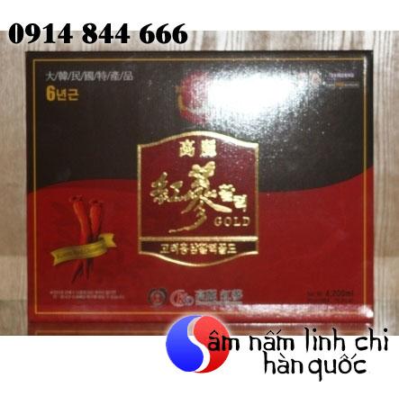 Nước hồng sâm Hàn Quốc dạng gói 60 gói