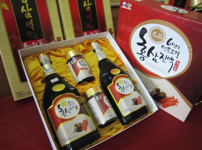 Tinh chất hồng sâm nấm thượng hoàng Hàn Quốc thượng hạng