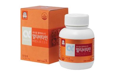 Viên cao hồng sâm Hàn Quốc KGC với vitamin e hộp 120 viên