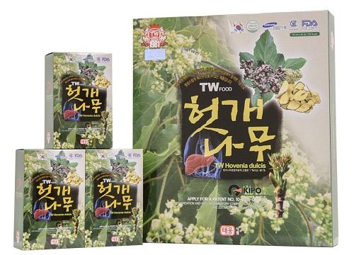 Nước bổ gan Hàn Quốc Twfood Hovenia Dulcis