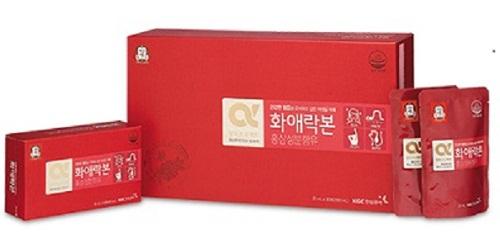 nước hồng sâm kgc cho nữ hộp 30 gói