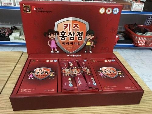 hồng sâm baby sanga hộp 30 gói