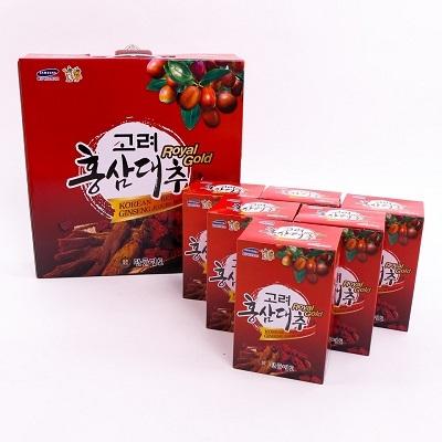 nước hồng sâm táo đỏ royal gold được chứng nhận về chất lượng và độ an toàn