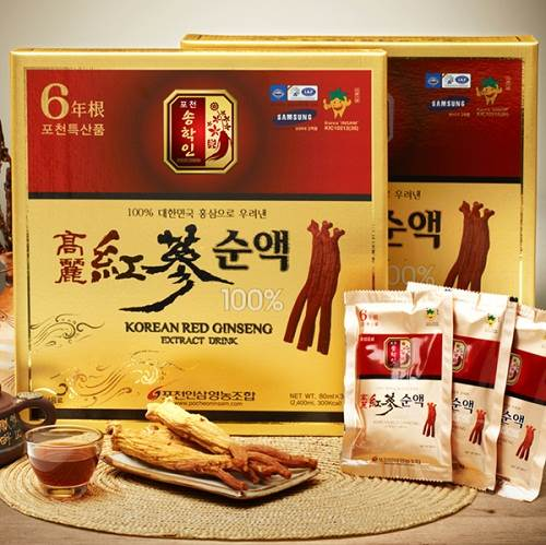 korean red ginseng extract drink