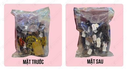 Nhận diện nấm lim xanh Quảng Nam Lê Phúc Hoàng Gia chính hãng qua vỏ túi