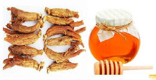 tác dụng của sâm ngâm mật ong với sức khỏe