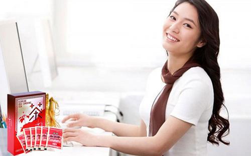 trà sâm taewoong giúp tập trung tinh thần làm việc