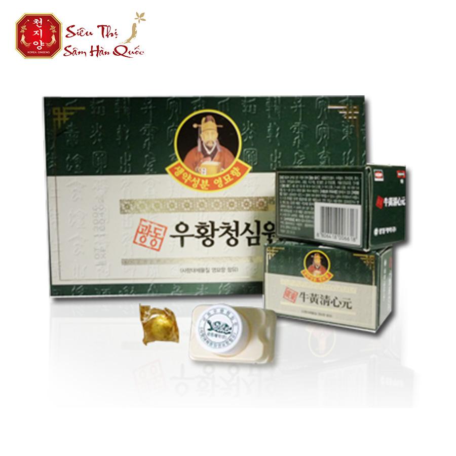 Review review an cung ngưu hoàng kwangdong hộp màu xanh
