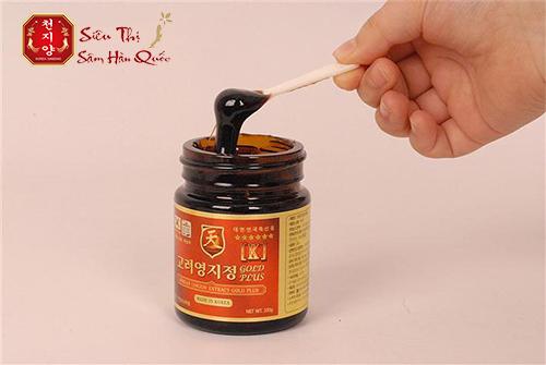 Review cao linh chi đỏ Hàn Quốc hộp gỗ