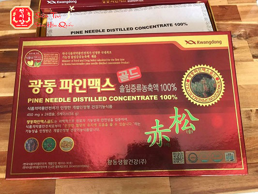 Review Tinh Dầu Thông Đỏ Kwangdong Hàn Quốc