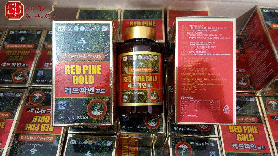 Review Tinh Dầu Thông Đỏ Red Pine Gold