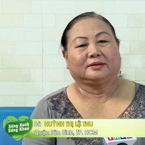Chia sẻ của Bà Huỳnh Thị Lệ Thu khi sử dụng tinh dầu thông đỏ