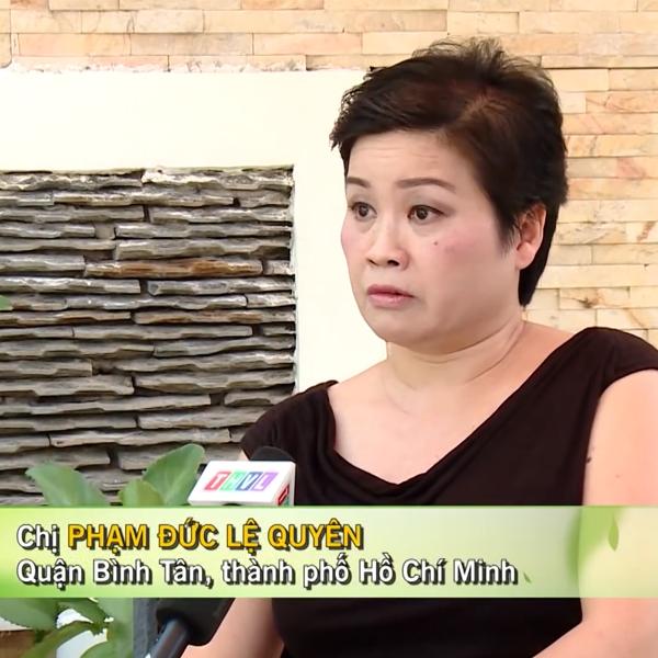 Chia sẻ của Bà Phạm Đức Lệ Quyên khi sử dụng tinh dầu thông đỏ