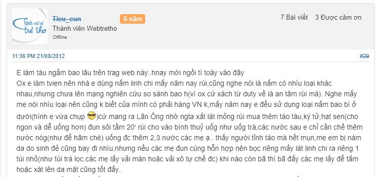 Chia sẻ của Tieu_cun trên trang Wedtretho