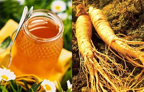 nhân sâm và mật ong - thảo dược quý hiếm của hàn quốc