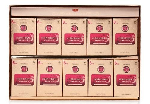 hồng sâm lát tẩm mật ong hộp 10 gói