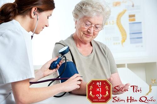tác dụng của hồng sâm hàn quốc giúp điêu hòa huyết áp