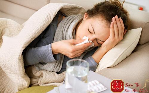 tác dụng của nhân sâm đối với người mới ốm dậy