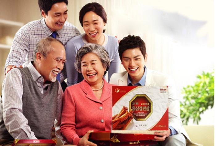 tác dụng của nhân sâm đối với người già