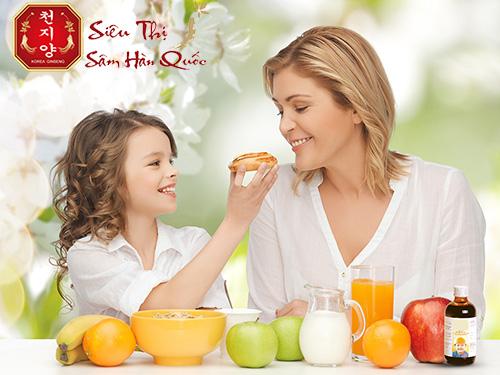 công dụng của nước hồng sâm giúp tăng cường hệ miễn dịch