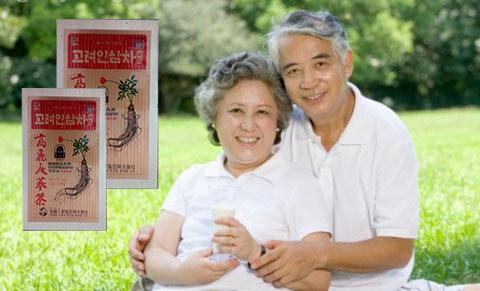 tăng cường tuổi thọ cùng trà hồng sâm hàn quốc