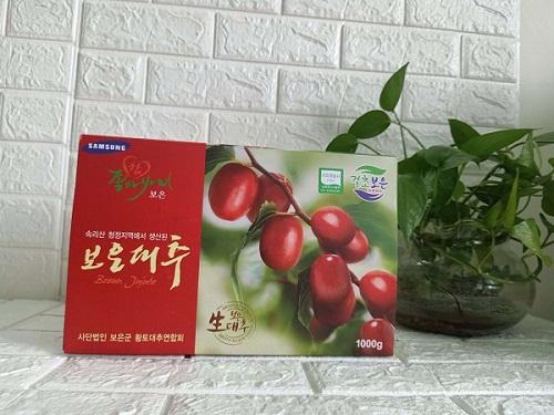 táo đỏ sấy khô túi 1kg