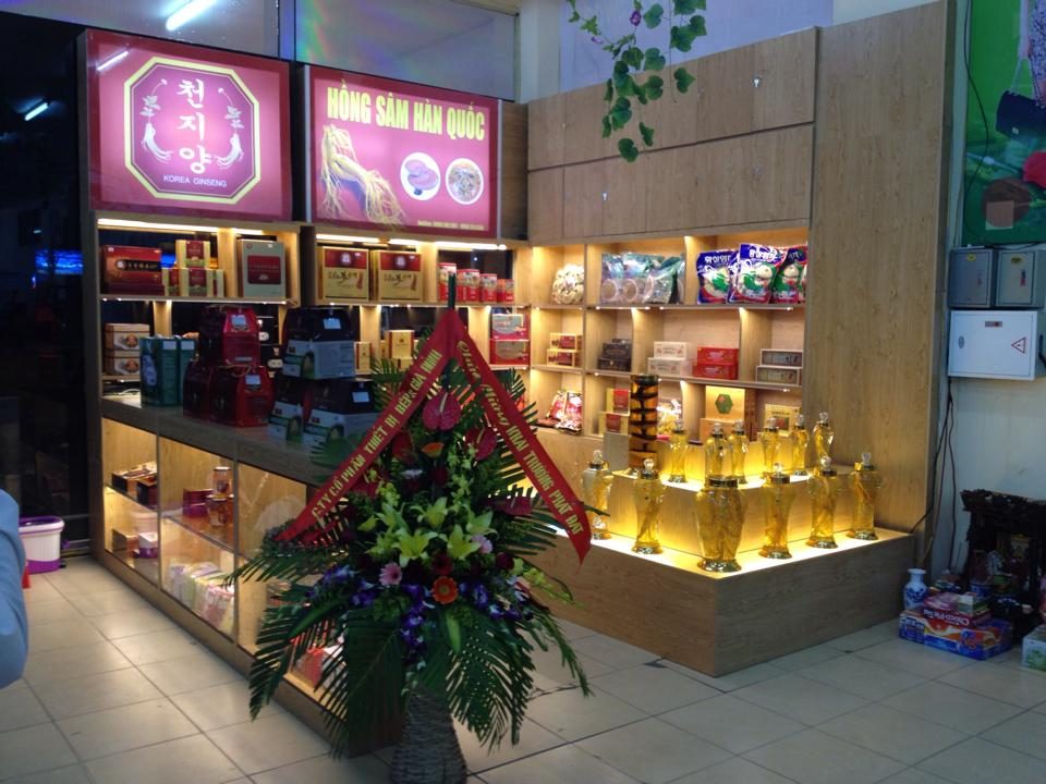 Cừa hàng bán các sản phẩm sâm nấm hàn quốc uy tín tại Cần Thơ