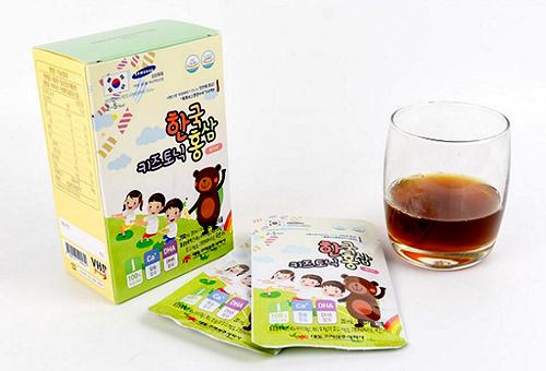 Korean Red Ginseng Baby 2-5 Year dạng nước vị thơm thích hợp với khẩu vị trẻ nhỏ