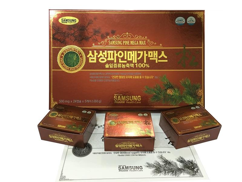 Sản phẩm tinh dầu thông đỏ Hàn Quốc