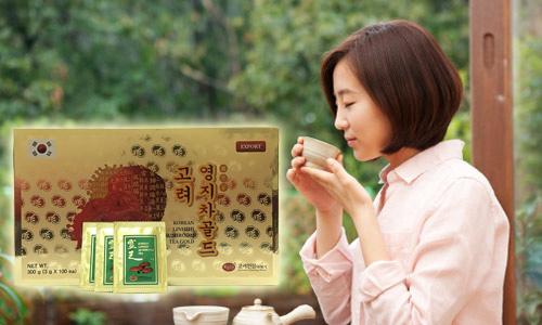 Uống trà linh chi mỗi ngày để có một cơ thể khỏe mạnh