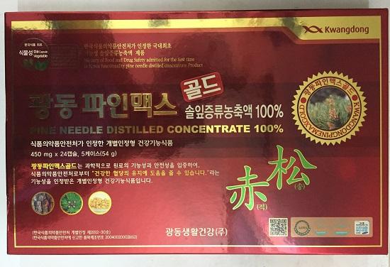 tinh dầu thông đỏ kwangdong hàn quốc