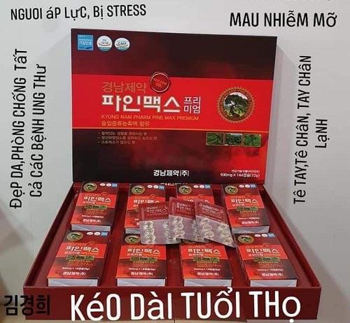 tinh dầu thông đỏ kyungnam hàn quốc - thần dược cho sức khỏe