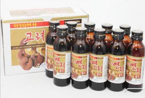 Nước giải khát vị linh chi Bio Apgold Drink 10 chai