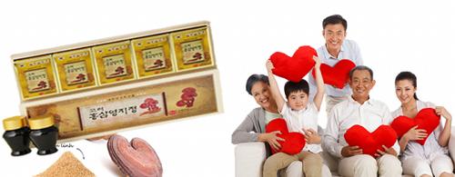 cao hồng sâm linh chi tốt cho bệnh nhân huyết áp